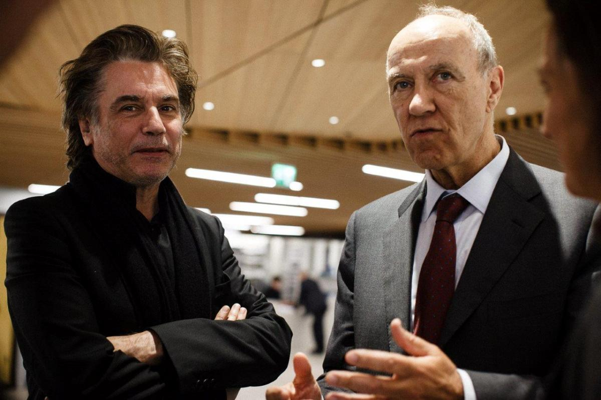 Jean-Michel Jarre with WIPO DG Francis Gurry