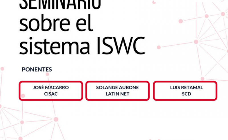 ISWC LAC societies training