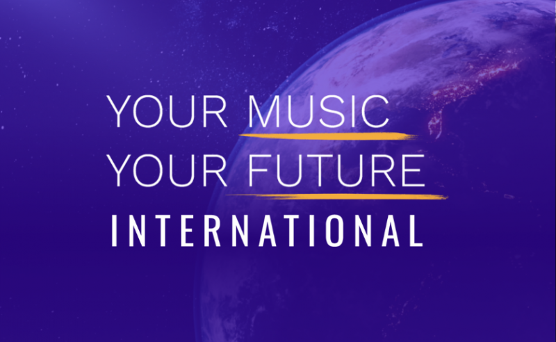 Your Music Your Future International Logo